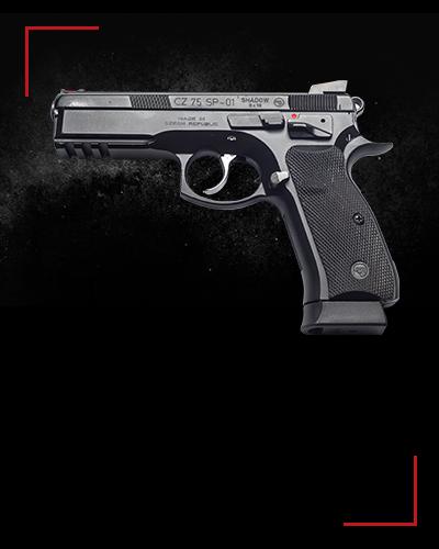 CZ SP-01 Shadow<br /> 2 zł / shot