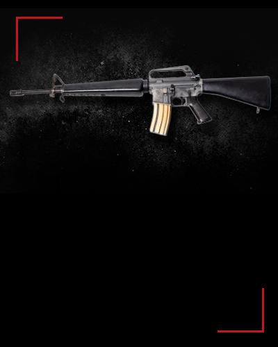 M16a1<br /> 4 zł / strzał