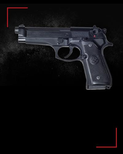 Beretta 92FS<br /> 2 zł / shot